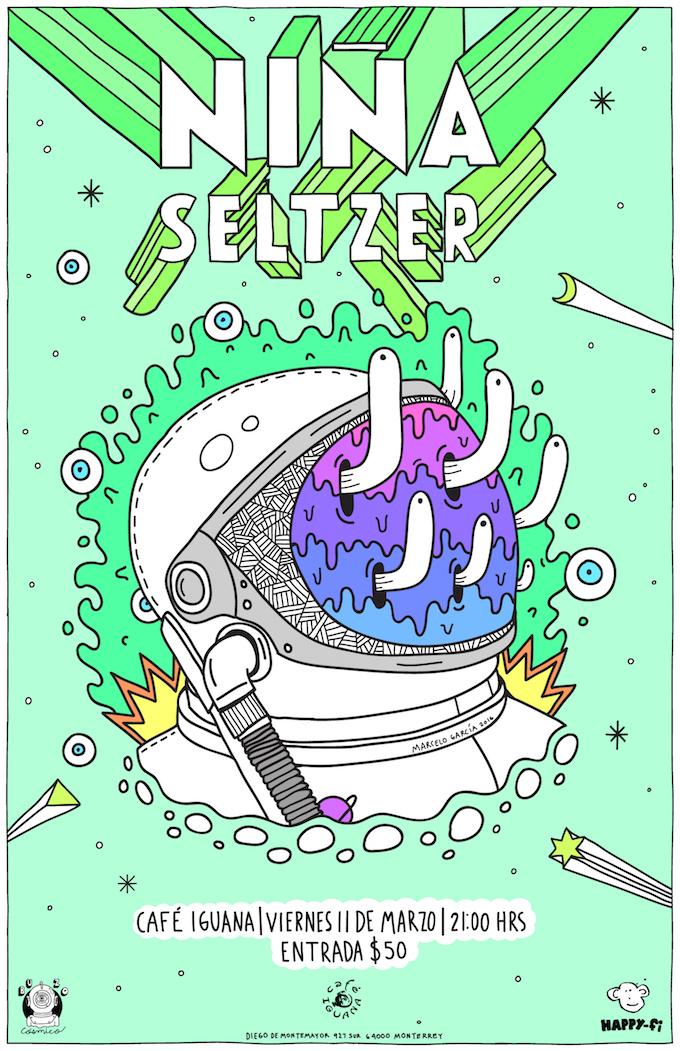 Seltzer café iguana 2016