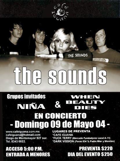 09may04thesounds